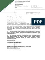 Surat Pekeliling Ikhtisas Bil. 3/2010 - Pelaksanaan Dasar Pengambilan dan Pertukaran Murid Sekolah Menengah Agama (SMKA) dan Kelas Aliran Agama (KAA)
