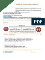 Orifice-flow measurement problems