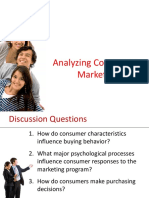 Chapter 6 Analyzing Consumer Markets