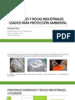 Minerales y Rocas Industriales Usados Para Protección Ambiental(2)