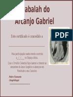 Certificado Angelologia (Gabriel)