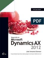 234639156 Desarrollo en Dynamics AX 2012 Jose Antonio Estevan Krasis Press Scribd PDF