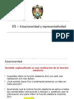 05_Estacionaridad y Representatividad