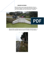 Informe de Tramo Sinamal - Posic