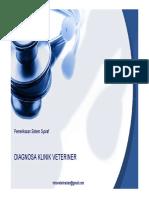 Diagnosa Klinik Veteriner_XI_Pemeriksaan Sistem Syaraf_4 Nopember 2013