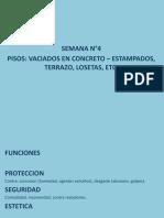 Vaciados en Concreto – Estampados, Terrazo, Losetas, Etc.