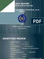 PPT Laporan Kasus Ateroma