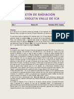 Radiacion en El Peru 2017