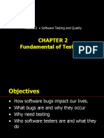 Fundamental of Testing