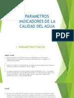 Parámetros Indicadores de La Calidad Del Agua