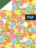 Floral Multi Scrapbook Paper