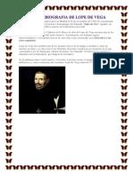 Biografia de Lope de Vega Félix L