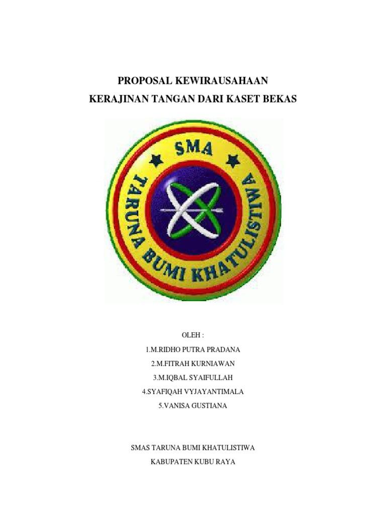 Proposal Usaha Kerajinan Tangan
