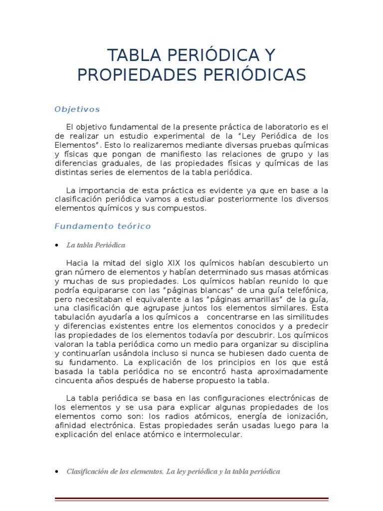 Tabla peridica y propiedades peridicas qumica bsica laboratorio tabla peridica y propiedades peridicas qumica bsica laboratorio urtaz Images
