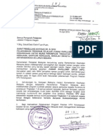 Surat Pekeliling Ikhtisas Bil. 6/2010 - Pelaksanaan Program Pelalian Human Papilloma Virus (HPV) Kebangsaan Untuk Murid Perempuan Tingkatan 1 Di Sekolah Kerajaan, Bantuan Kerajaan, Sekolah Swasta dan Sekolah Antarabangsa Seluruh Negara