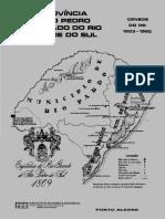 De Província de São Pedro a Estado Do Rio Grande Do Sul OK!