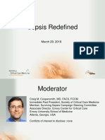 Sepsis Redefined Webcast 3-29-216