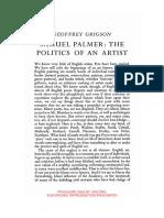 Grigson Palmer's Politics
