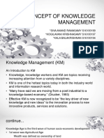 Concept of Knowledge Management