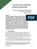 Western Ethnocentrism