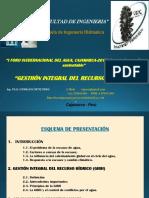 Presentación Foro Agua-2017 Oswaldo