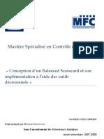 Conception d'un Balanced Scorecard et son implémentation à l'aide des outils décisionnels