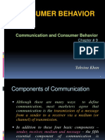 Chapter 9 - Communication and Consumer Behavior.ppt