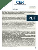 Informe CEM _El Desafìo de La Competitividad