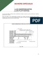 4. Planchers Spéciaux (4.1. Dalles Indépendantes(Dalles Flottantes))