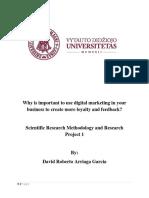 Importance of Digital Marketing Loyalty and Feedback