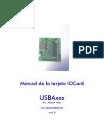 Manual USBAxes