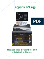 Manual Dreambox PLi