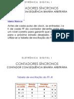 Eletrônica Digital i - Contadores Síncronos[1]