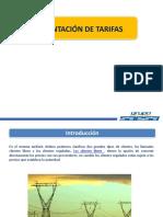 Resumen de Tarifas 2016