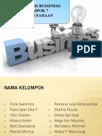 PPT KWU Kelompok 7 (Legal Forms Bussiness)