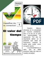 03 El Valor Del Tiempo