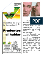 05 Prudentes Al Hablar