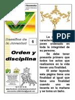 06 Jv3 Orden y Disciplina