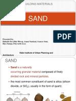 UNIT -3 - SAND