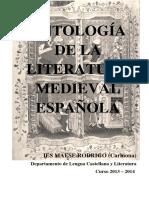Antologia de La Literatura Medieval Espanola