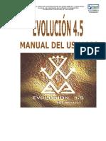 Manual Del Usuario Evolución 4.5