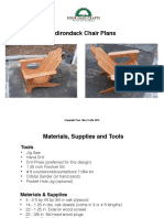 Adirondike Chair Tutorial Plans 1