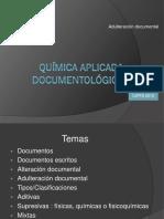 3- Alteraciones de Documentos