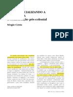 COSTA-Desprovincializando a sociologia. A contribuição pós-colonial.pdf