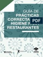 Higiene en La Restauracion GASTRONIMICA N°4