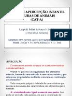 Teste de Apercepção Infantil Figuras de Animais