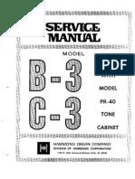 Hammond B3 Service Manual
