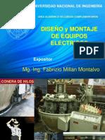 1 Diseño y Montaje de Equipos Electricos