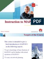 Intruction to Use MAPINFO 20031030 B 1.0