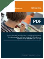 Guia Clínica Australia TDAH
